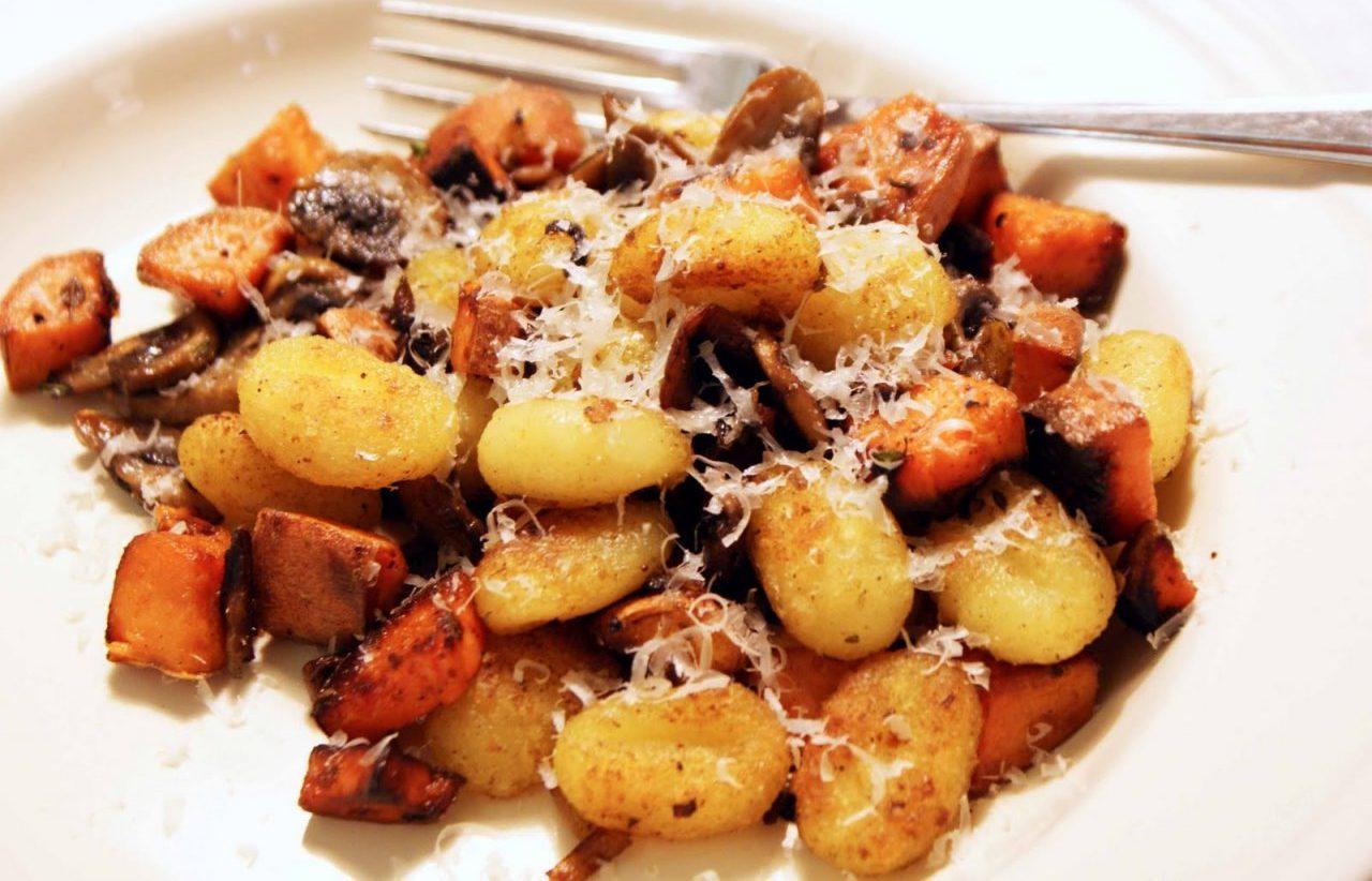 вешенки с картошкой жареные на сковороде рецепт