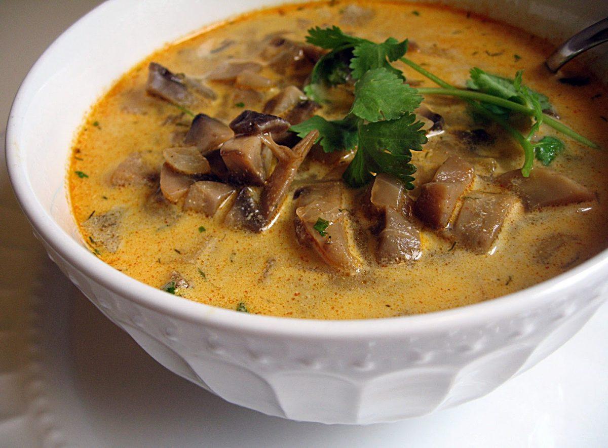 Грибной суп из свежих груздей рецепт